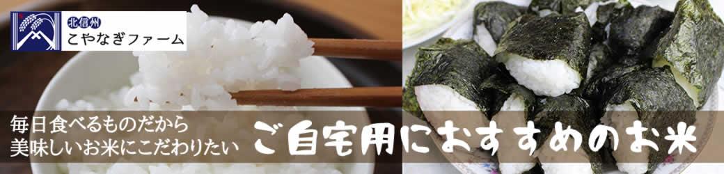 自宅用お米